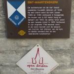 Saint Martin's Plaque