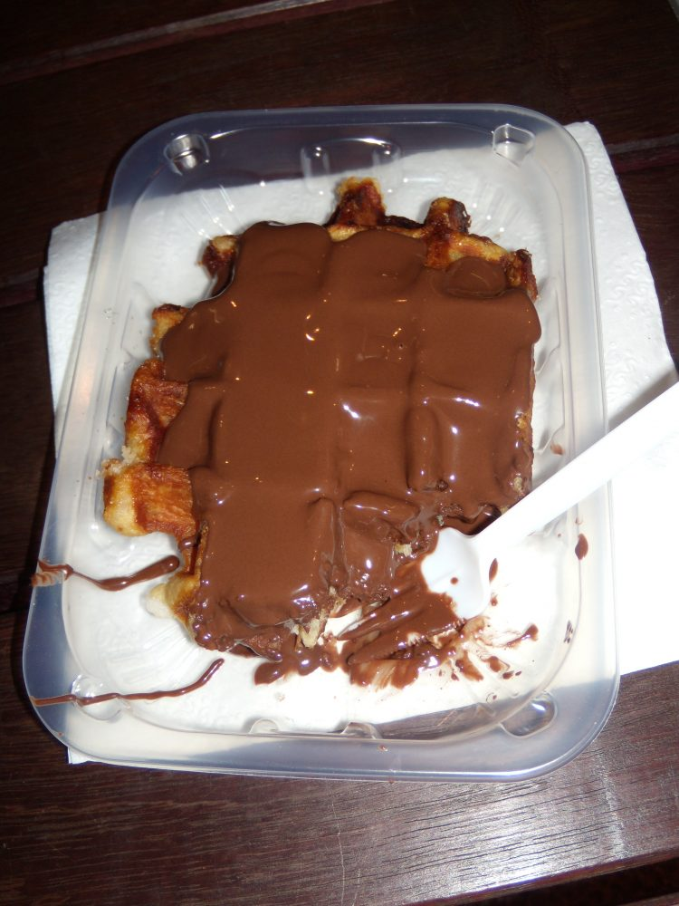 Belgian Waffle with Belgian Chocolate
