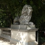 Brussels Park Statue