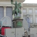 Statue of Godfrey of Bouillon