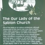 Our Lady's Plaque