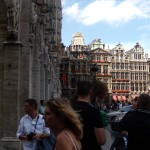 Entrance to Grote Markt from City Hall