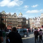 Guildhalls in Grote Markt