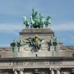 Cinquantenaire Triumphal Arch (Detail)