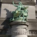 Cinquantenaire Triumphal Arch (Ground Statue)