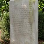 Ramparts Cemetery Plaque