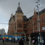 Amsterdam Central Station (Outside)