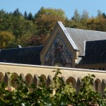 Orval Abbey Courtyard (Close-up)