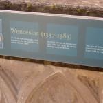 Wenceslas' Grave (Plaque)