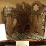 Wood Model Of Orval Ruins