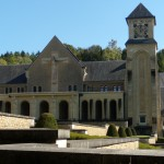 Orval Abbey Courtyard
