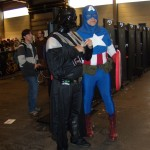 Darth Vader and Captain America