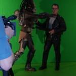 Predator versus Terminator (Green Screen)
