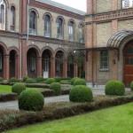 Dr. Guislain Entrance Courtyard