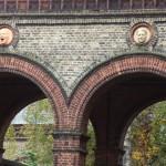 Dr. Guislain Courtyard Arch Faces Part 2