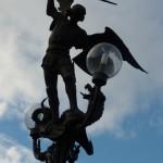 Statue on Saint Michael's Bridge (Sint-Michielsbrug)