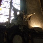 Death Statue (Behind the Altar)