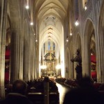 Inside Antwerp Cathedral