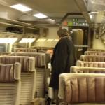 Inside Eurostar Train