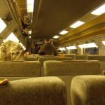 Inside TGV Train