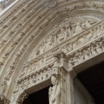 Entrance Up-Close (Notre Dame)