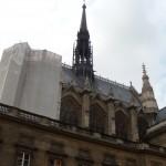 Tower Under Renovation (Sainte-Chapelle)