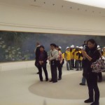 Monet Painting (Musée de l'Orangerie)