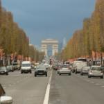 The Avenue towards the Arc (Champs-Elysées)