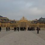Golden Gate outside Versailles