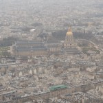 Invalides from Eiffel