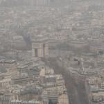 Arc de Triomphe from Eiffel